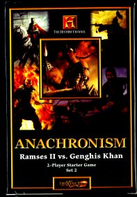 Anachronism: Ramses II vs Genghis Khan by TriKing Games, LLC