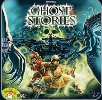 Ghost Stories Board Game by Asmodee Editions