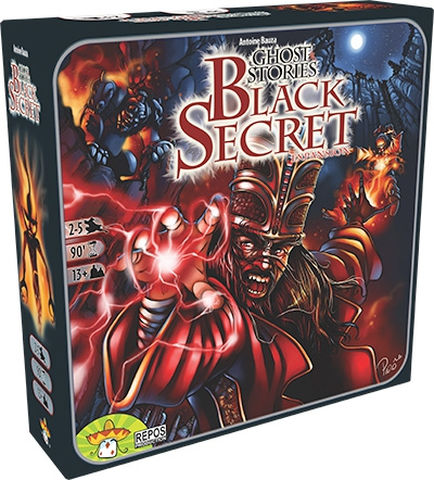 Ghost Stories: Black Secret Expansion by Asmodee Editions