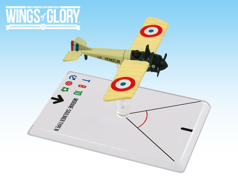 Wings of Glory WWI : Morane-Saulnier Type N (Gilbert) by Ares Games Srl