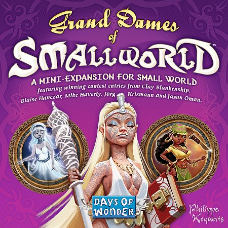 Small World: Grand Dames by Days of Wonder, Inc