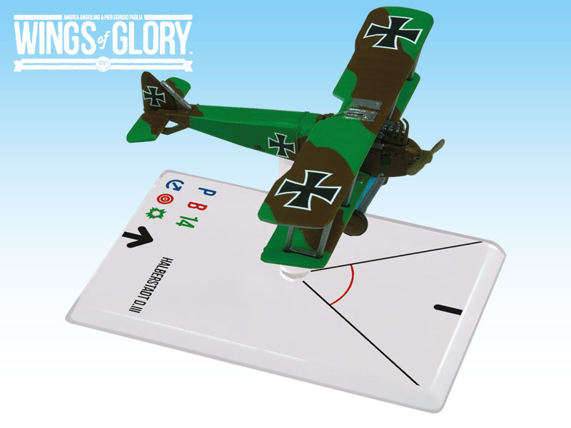 Wings of Glory WWI : Halberstadt D.III (Camouflage) by Ares Games Srl