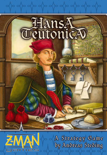 Hansa Teutonica by Z-Man Games, Inc.