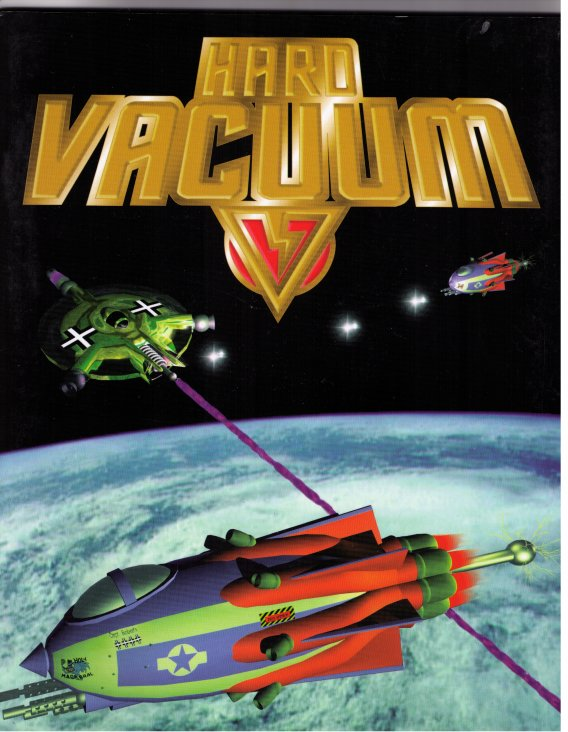 Hard Vacuum (booklet) by Fat Messiah Games