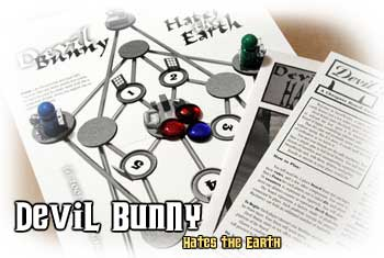 Devil Bunny Hates The Earth by Cheapass Games