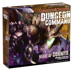 Dungeons & Dragons: Dungeon Command - Heart Of Cormyr by Wizards of the Coast