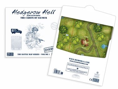 Memoir '44 BattleMap Hedgerow by Days of Wonder, Inc.