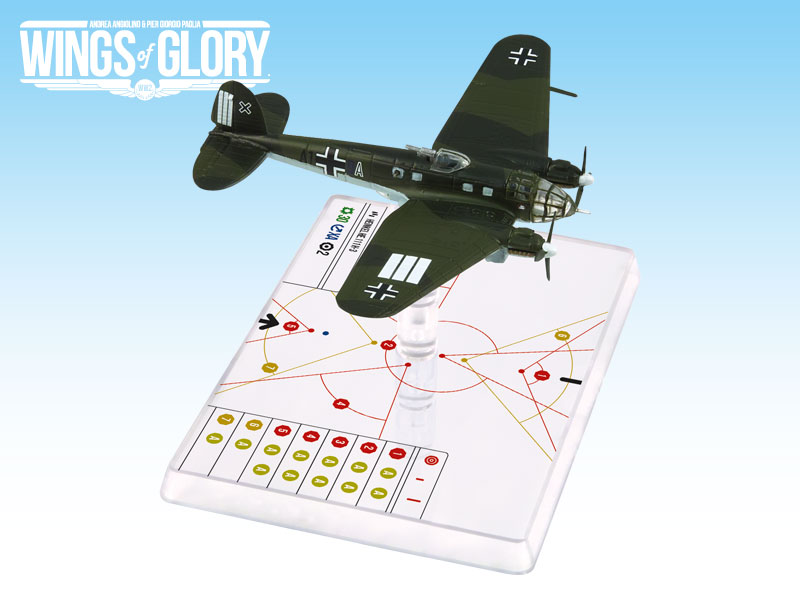 Wings Of Glory WW2: Heinkel He.111 H-3 Stab./kg53 by Ares Games