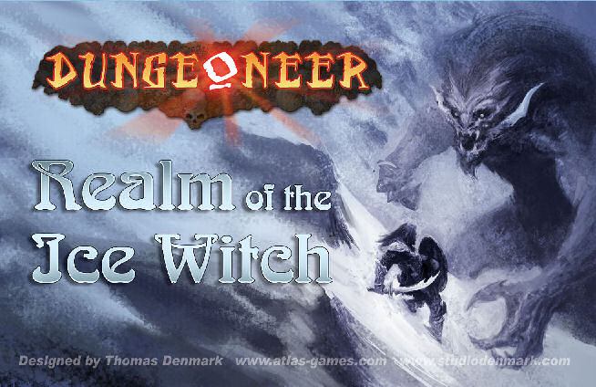 Dungeoneer: Realm Of The Ice Witch by Atlas Games