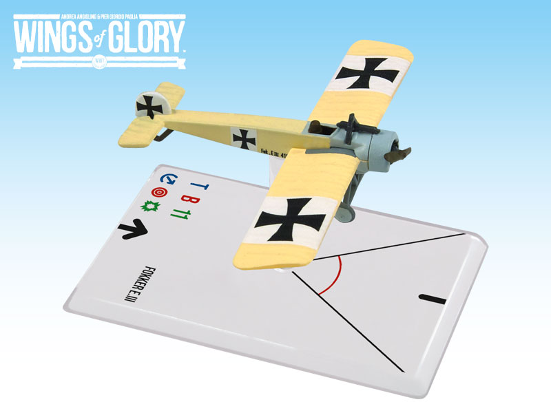 Wings of Glory WWI : Fokker A.III (Immelmann) by Ares Games Srl