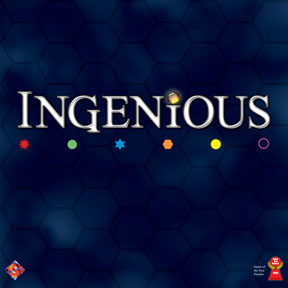 Ingenious (English version of Einfach Genial) by Fantasy Flight Games