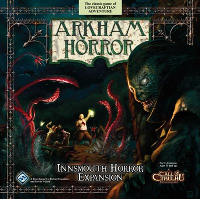 Arkham Horror: Innsmouth Horror Expansion by Fantasy Flight Games