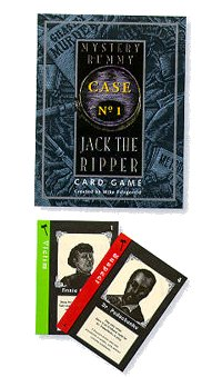 Mystery Rummy Case #1: Jack the Ripper by US Games Systems, Inc