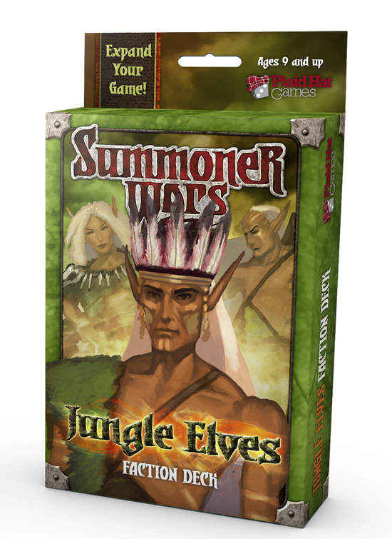 Summoner Wars: Jungle Elves Faction Deck by Plaid Hat Games
