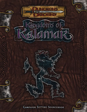 Dungeons & Dragons : Kingdoms Of Kalamar Campaign Setting by Kenzer and Company