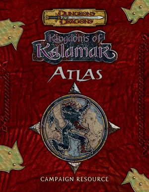 Dungeons & Dragons : Kingdoms Of Kalamar Atlas by Kenzer and Company