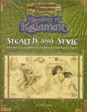 Dungeons and Dragons: Kingdoms Of Kalamar: Stealth  by