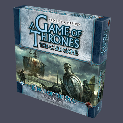 A Game Of Thrones LCG: Kings of the Sea Expansion Pack Revised by Fantasy Flight Games