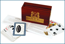 Knob and Heel Cribbage by Front Porch Classics