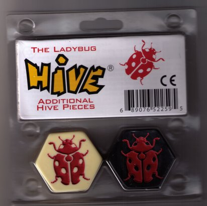Hive Ladybug Expansion by Gen 4 2 Games / Team Components Inc.