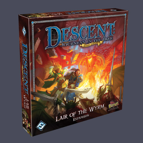 Descent: Lair of the Wyrm Expansion by Fantasy Flight Games