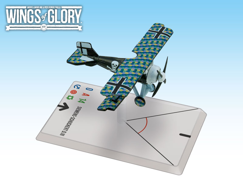 Wings of Glory WWI : Siemens-Schuckert  D.III (Lange) by Ares Games Srl