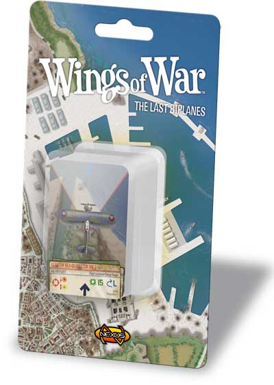 Wings Of War: The Last Biplanes Squadron Pack by Fantasy Flight Games
