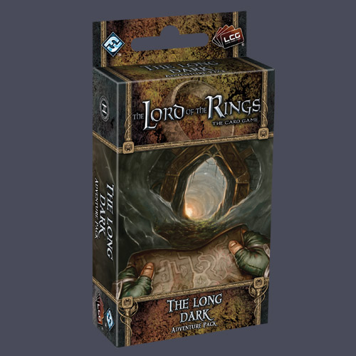 Lord of the Rings LCG: The Long Dark Adventure Pack by Fantasy Flight Games