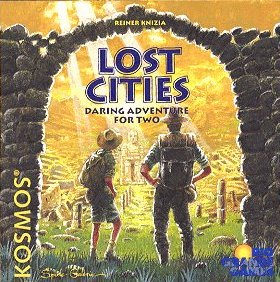 Lost Cities card game by Rio Grande Games