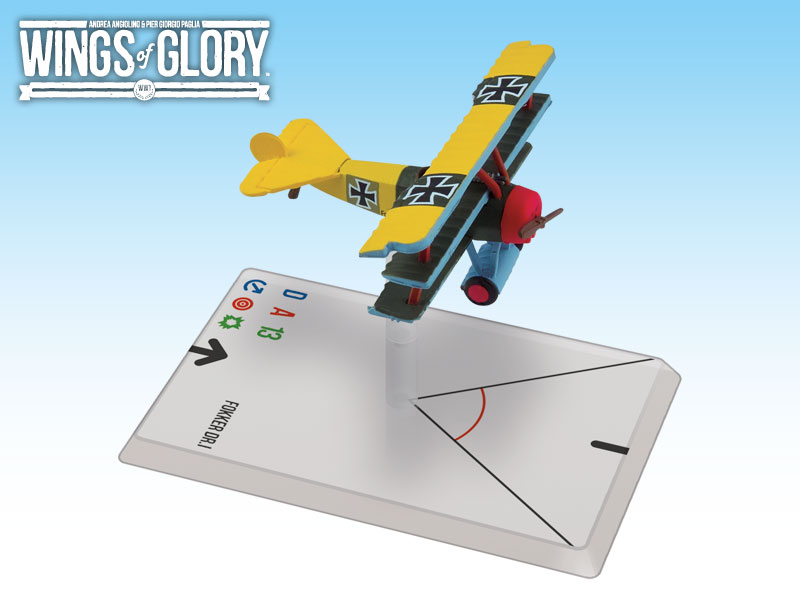 Wings of Glory: WWI: Fokker DR.I (Lothar von Richthofen) by Ares Games