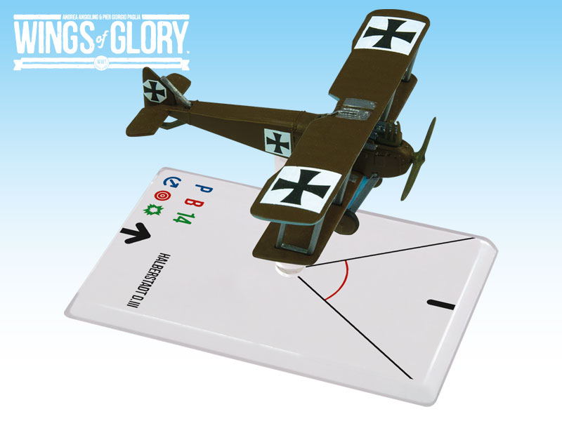Wings of Glory WWI : Halberstadt D.III (Luftstreitkräfte) by Ares Games Srl