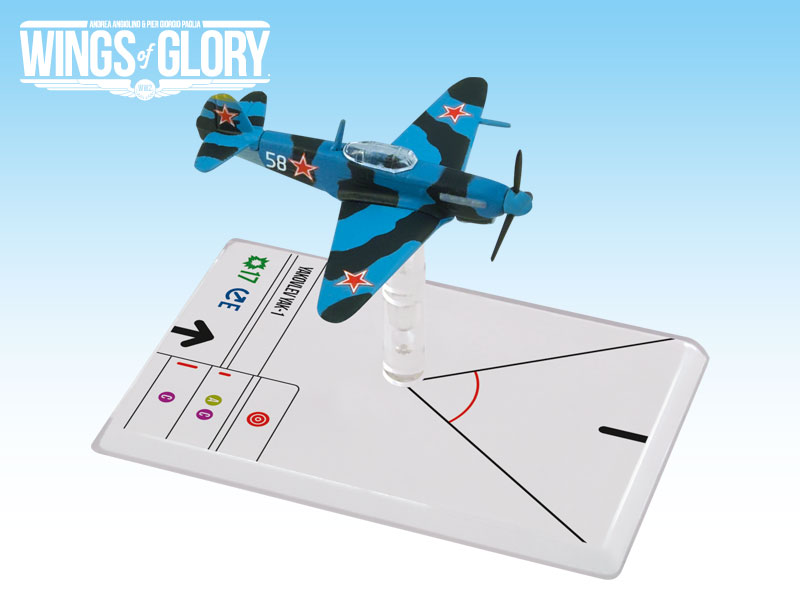 Wings of Glory WW2 : Yakovlev Yak-1 (Luganskij) by Ares Games Srl