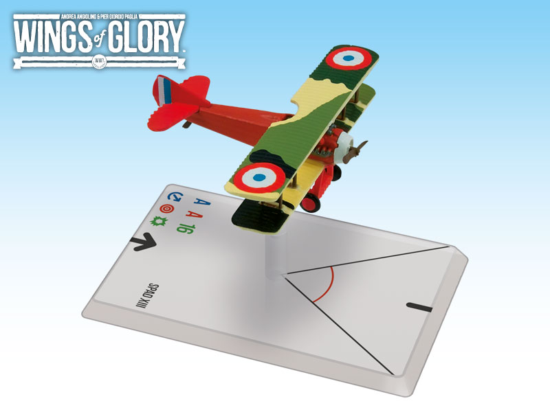 Wings of Glory: WWI: SPAD XIII (Madon) by Ares Games