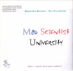 Mad Scientist University by Raiding Party Games