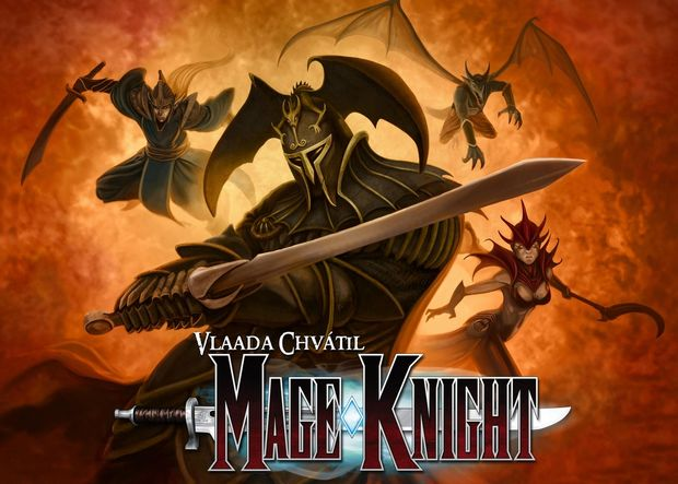 Mage Knight Board Game by WizKids/NECA