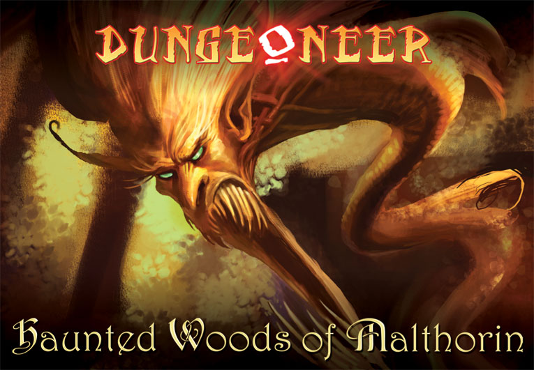 Dungeoneer: Haunted Woods Of Malthorin by Atlas Games