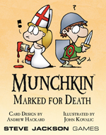 Munchkin Marked For Death Pack by Steve Jackson Games