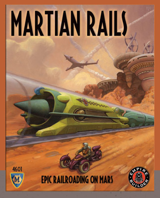 Martian Rails by Mayfair Games