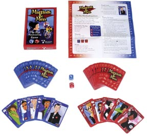 Martinis & Men Card Game by TableStar Games