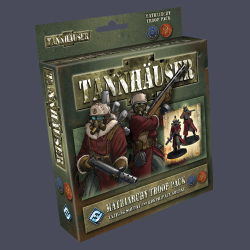 Tannhauser: Matriarchy Troop Pack by Fantasy Flight Games