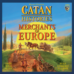Catan Histories: Merchants of Europe by Mayfair Games