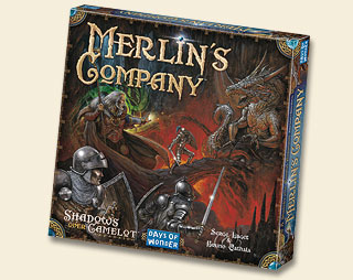 Shadows Over Camelot Expansion : Merlin's Company by Days of Wonder, Inc.