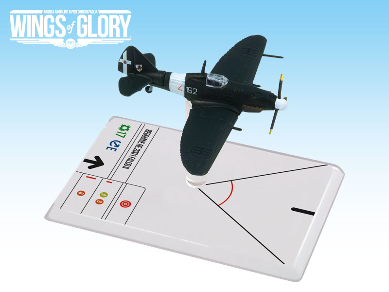 Wings of Glory WW2 : Reggiane Re.2001 Falco Ii (Metellini) by Ares Games Srl