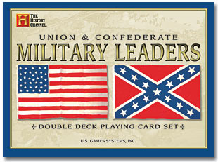 Union and Confederate Military Leaders (2 deck playing cards) by US Games Systems, Inc