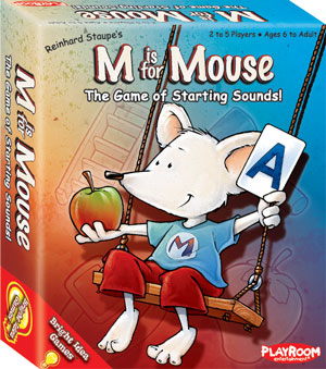 M Is For Mouse by Playroom Entertainment