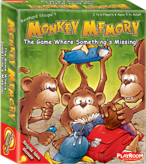 Monkey Memory by Playroom Entertainment