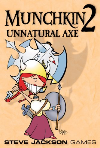 Munchkin 2: Unnatural Axe by Steve Jackson Games