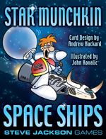 Star Munchkin: Space Ships Booster Pack by Steve Jackson Games