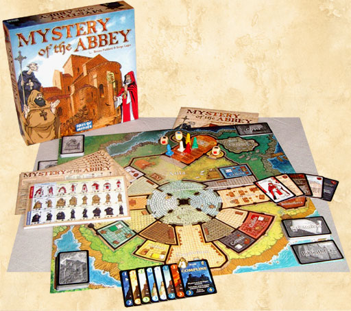 Mystery of the Abbey (Includes Pilgrims Expansion) by Days of Wonder