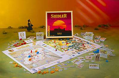 Settlers of Nuremburg (die Siedler von Nurnberg) by Mayfair Games